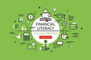 Financial Literacy hero banners