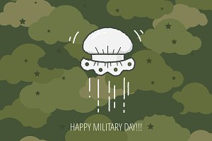 Military Day design concept