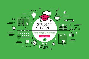 Student Loan hero banners