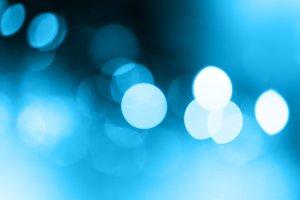 blue blur blinking background