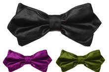 Collection of color bow tie