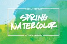 Spring Watercolor Textures