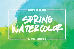 Spring Watercolor Textures