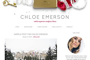 Chloe Emerson WordPress Theme