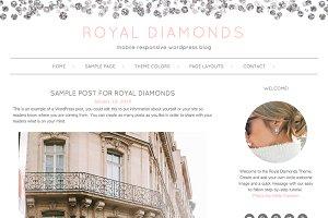 Royal Diamonds WordPress Theme