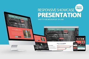 Responsive Showcase Presentation