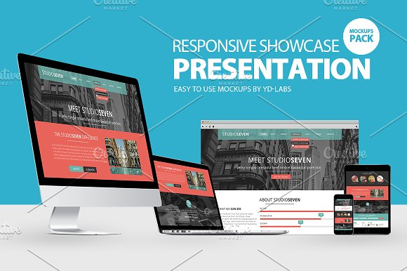Free Responsive Showcase Presentation