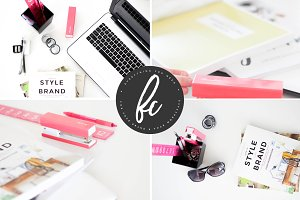 Designer Desk Photo Bundle