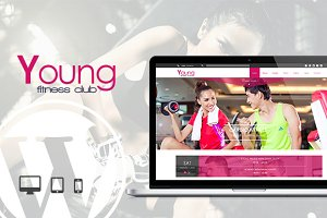 Young Fitness - Spa & Fitness Theme