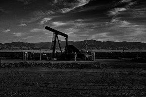 Oil Well, Bakersfield California.