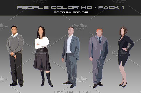 People HD color pack 01