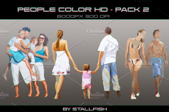 People HD color pack 02