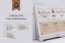 Mock-Up newspaper Vol.2