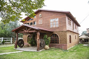 rustic house