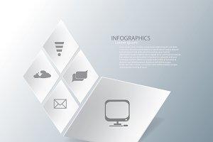 rhombus infographic