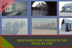 discount for 3 projects at once