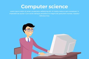 Computer Science Concept Banner