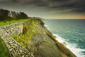 Paseo San Pedro Llanes Asturias