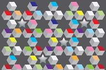 background cubic