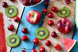 fruits summer