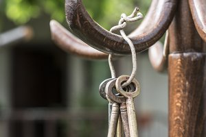 Bundle of old keys
