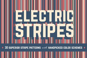 Electric Stripes Pattern