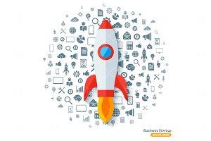Rocket Business Startup