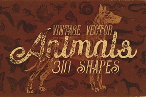 Vintage Animals Vectors