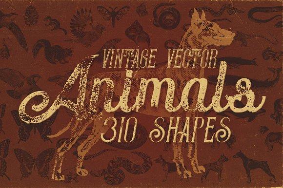 Vintage Animals Vectors