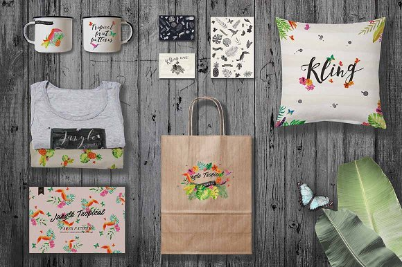 Jungle Tropical in Illustrations - product preview 5