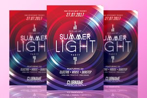 Summer Light Party | Flyer Template