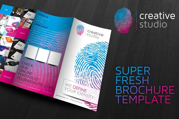 RW Fingerprint Modern Brochure