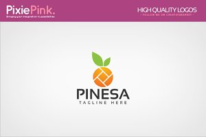 Pinesa Logo Template