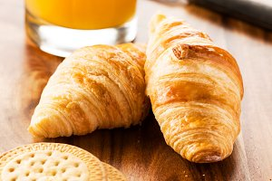 Breakfast croissants