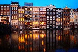 Houses of Amsterdam, Netherlands