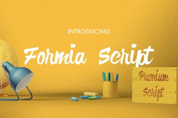 FREE Formia Script font