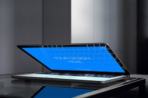 Ultra realistic Macbook Pro mockup