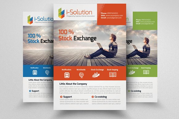 Business Training Flyer Template Flyer Templates Creative Market