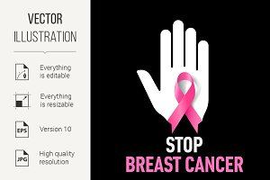 Stop Breast Cancer sign