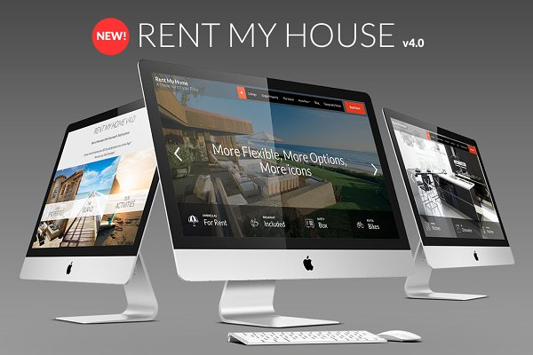 WordPress Business Themes: creativebythesea - Rent My Home Vacation Rental Booking