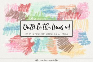 Outside the Lines #1 : Brushes