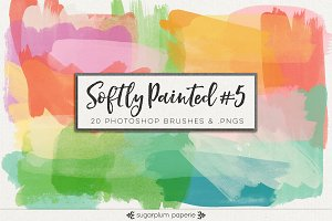 Softly Painted #5 : Brushes