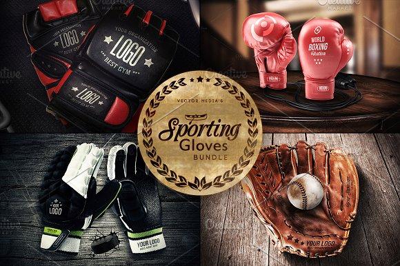 Free Sporting Gloves - Mockups [BUNDLE]
