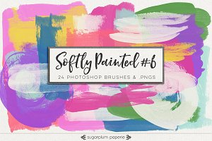 Softly Painted #6 : Brushes