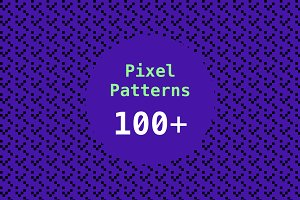 100+ Pixel Patterns