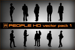 People HD vector pack 1