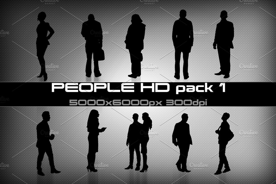 People HD pack 01