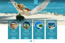 Destination: Travel WordPress Theme