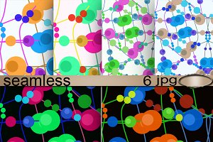 6 Seamless patterns for textiles