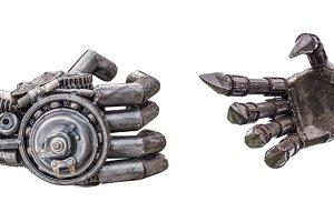 handshake by cy-ber robot